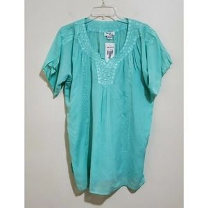 Advance Apparels Blouse Shirt Top Embroidered